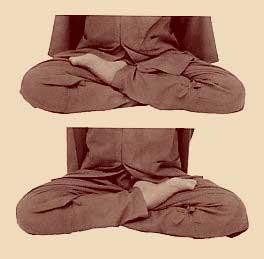 Поза для сидячей медитации