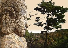 Статуя на горе Нам-сан